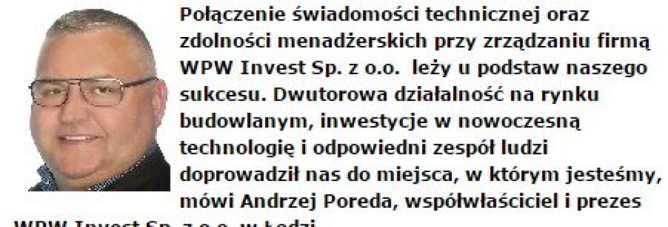 Gepardy Biznesu dla WPW Invest Sp. z o.o.
