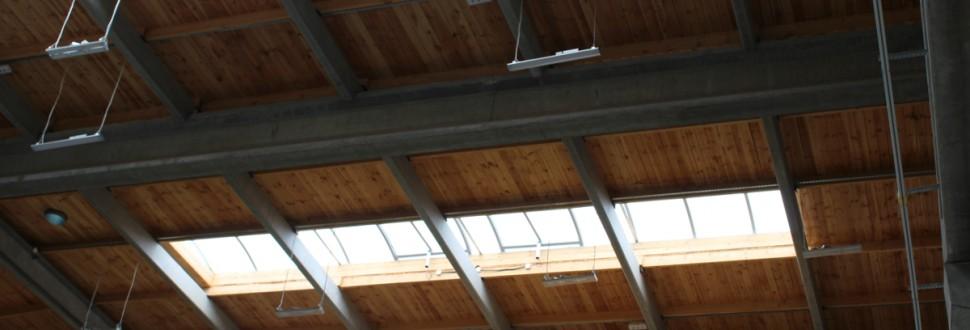Konstrukcja dachu cynkowni w m. Radomsko