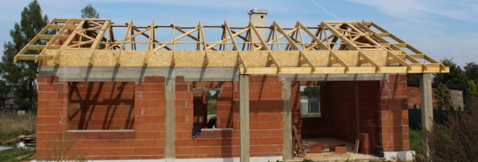 Budowa domu w miejsc. Guzew