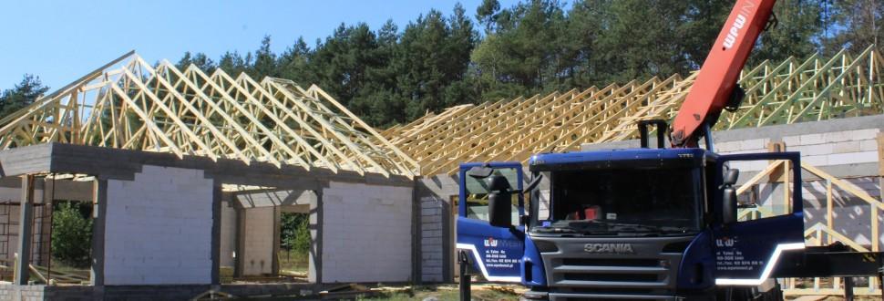 Budowa dachu sali weselnej w woj. łódzkim